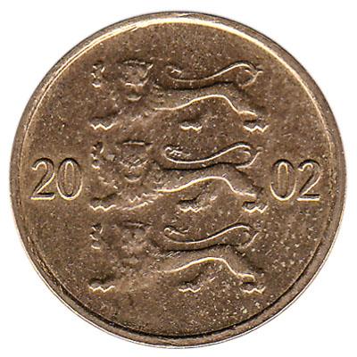 10 Senti coin Estonia