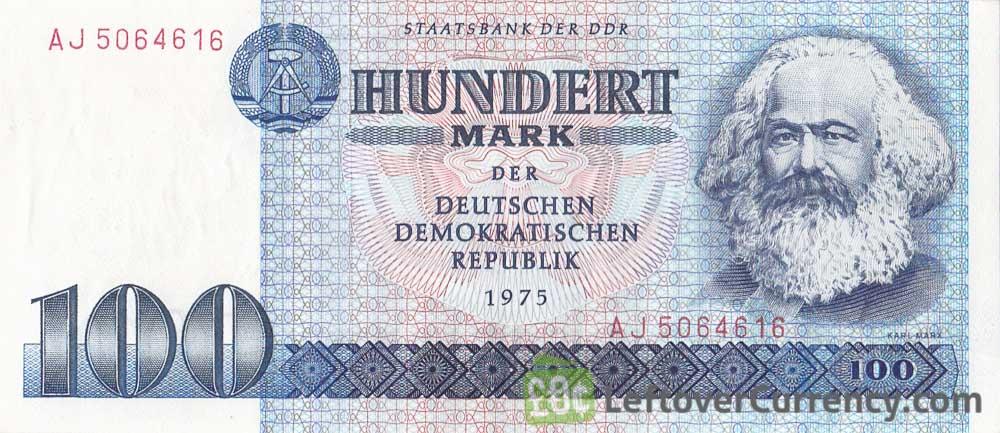 east german banknotes