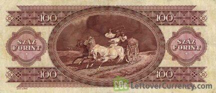 100 Hungarian Forints banknote (Lajos Kossuth)