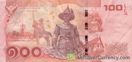 100 Thai Baht banknote (updated portrait)