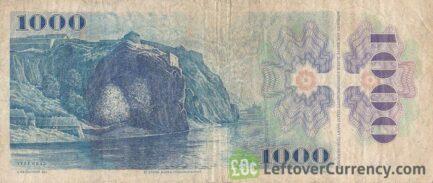 1000 Czechoslovak Korun banknote 1985 (Bedrich Smetana)