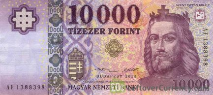10000 Hungarian Forints banknote (King St. Stephen 2014)