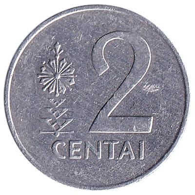 2 Centai coin Lithuania