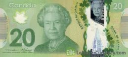20 Canadian Dollars banknote (Frontier Series)