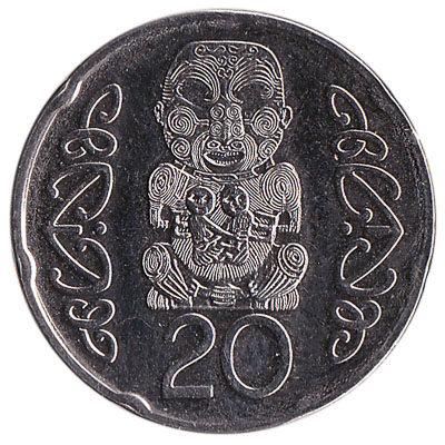 20 cent coin New Zealand