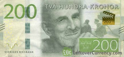 200 Swedish Kronor (Ingmar Bergman)