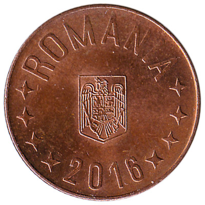 5 Bani coin Romania