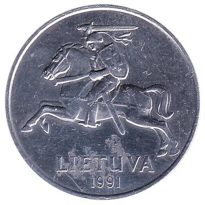 5 Centai coin Lithuania
