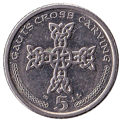 5 Pence coin Isle of Man