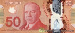50 Canadian Dollars banknote (Frontier Series)