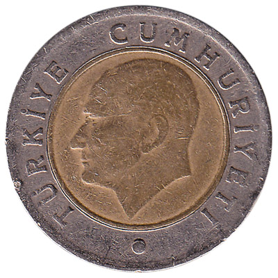 50 Kurus coin Turkey