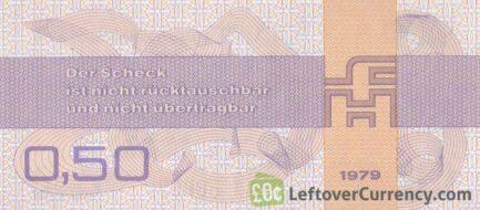 50 Pfennig Forumscheck DDR (1979)