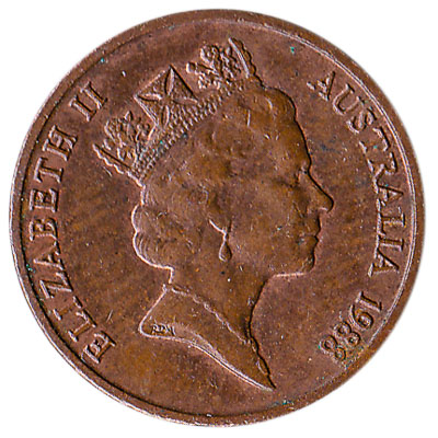 Australian 1 cent coin