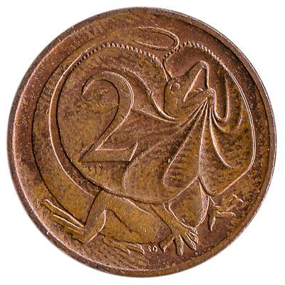 Australian 2 cent coin