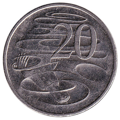 australian 20 cent coin