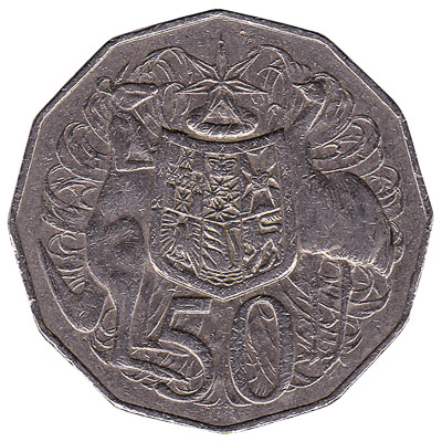 Australian 50 cent coin - Exchange yours for cash today