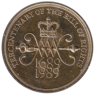 British commemorative two pounds coin