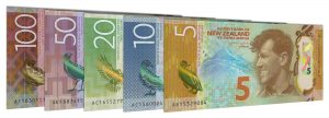 Current New Zealand dollar banknotes accepted for exchange
