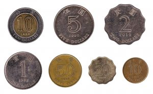 Hong Kong dollar coins