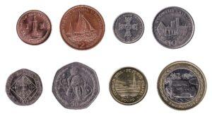 Isle of Man pound coins
