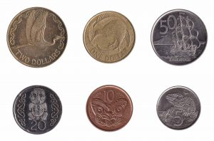 New Zealand dollar coins