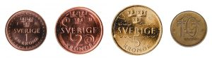 Swedish krona coins accepted for exchange