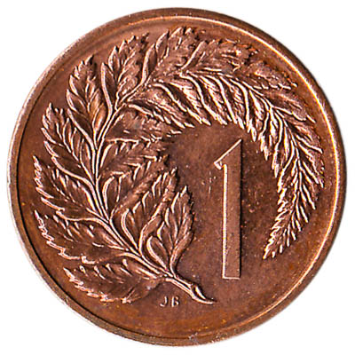1 cent coin New Zealand