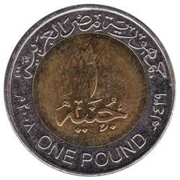 1 Egyptian Pound coin