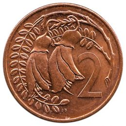 2 cent coin New Zealand