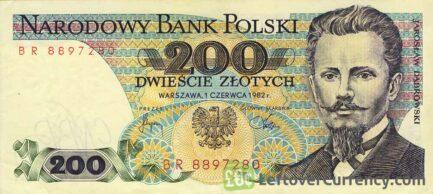 200 old Polish Zlotych banknote (Jaroslaw Dąbrowski)