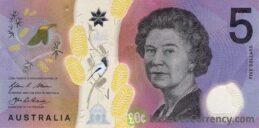 5 Australian Dollars banknote series 2016