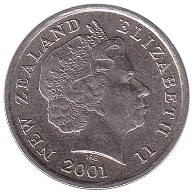5 cent coin New Zealand