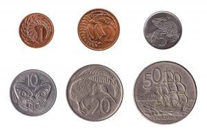 old new zealand dollar coins