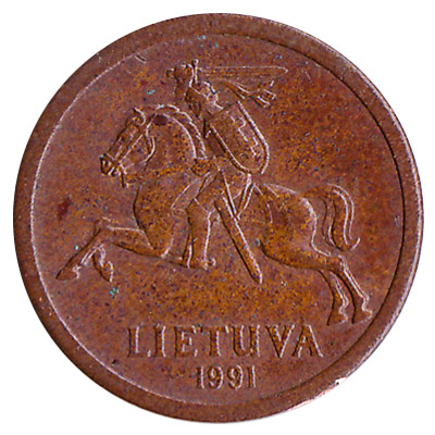 10 Centas coin Lithuania (1991-1996)