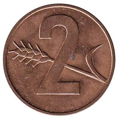 2 Rappen coin Switzerland