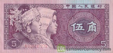 5 Wu Jiao banknote China
