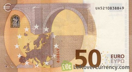 50 Euros banknote (Second series)