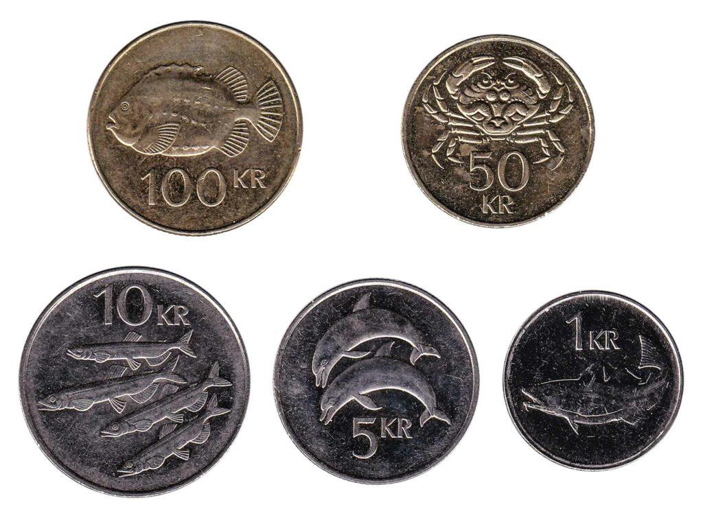 Icelandic Króna coins