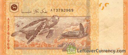 20 Malaysian Ringgit banknote (4th series)