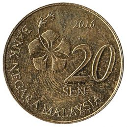 20 sen coin Malaysia (Third series)