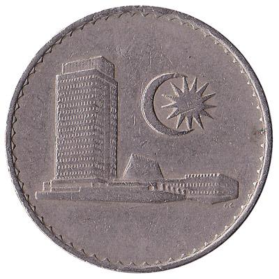 50 sen coin Malaysia (First series)