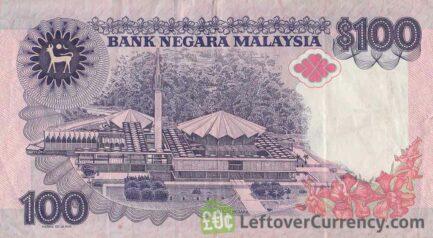 100 Malaysian Ringgit (2nd series 1986)