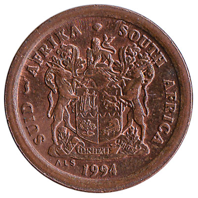 2 cents coin South Africa