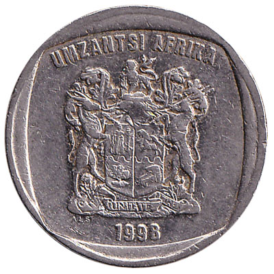 2 South African rand coin