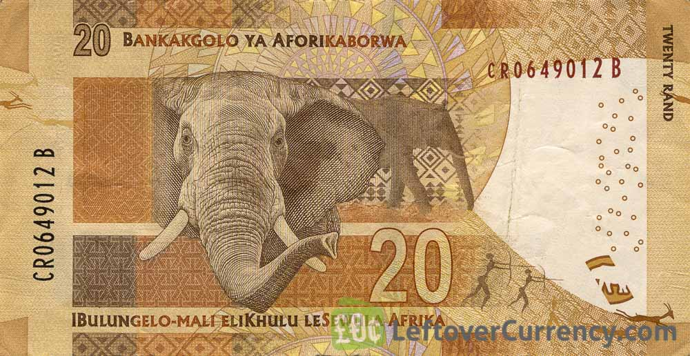 20 South African Rand banknote (Nelson Mandela)