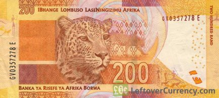 200 South African Rand banknote (Nelson Mandela)