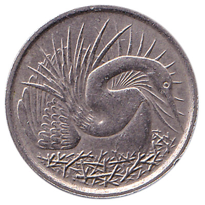 5 Cents coin Singapore (First series)