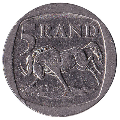 5 South African rand coin