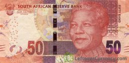 50 South African Rand banknote (Nelson Mandela)