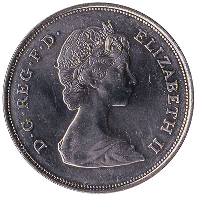 British Crown coin Queen Mother 80th birthday (1980)